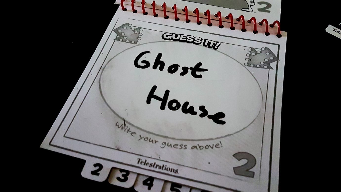 Guess is ghost house in Telestrations