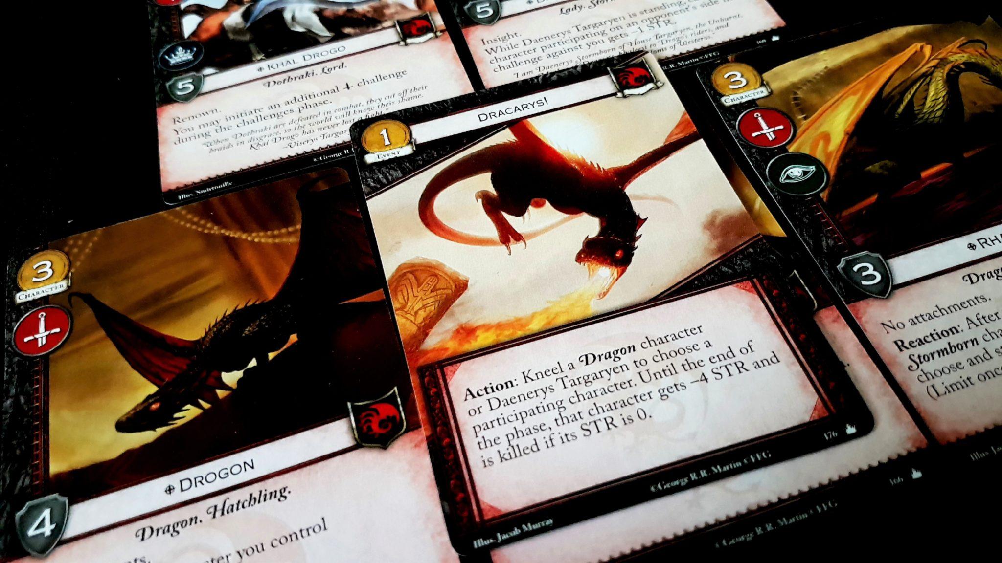 Targaryean cards