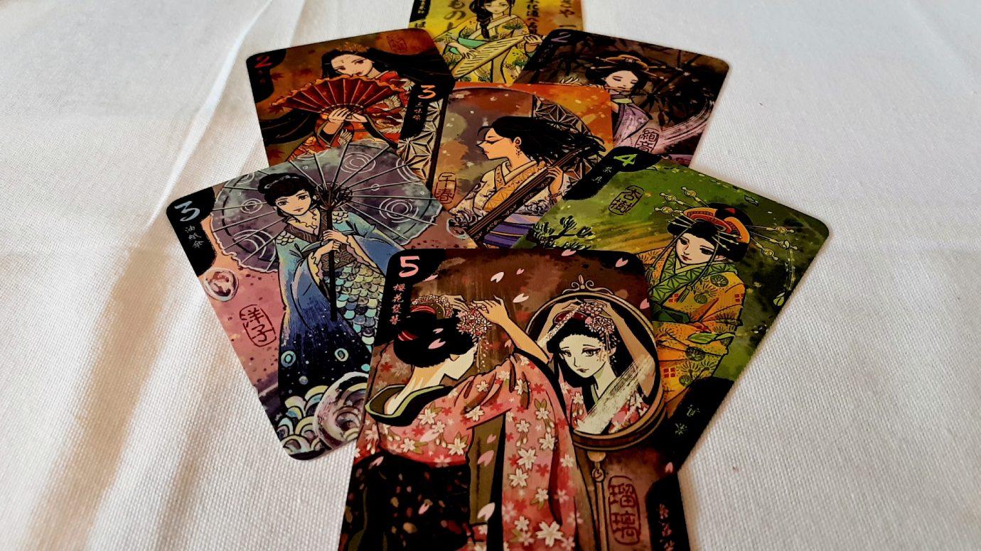 Characters in Hanamikoji
