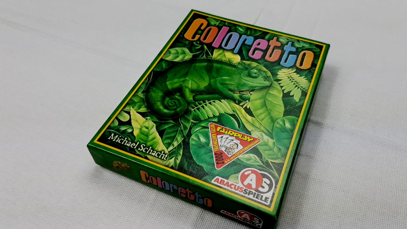 Coloretto box