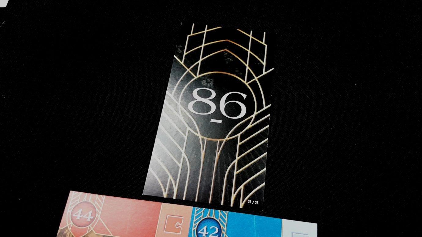 86 card found