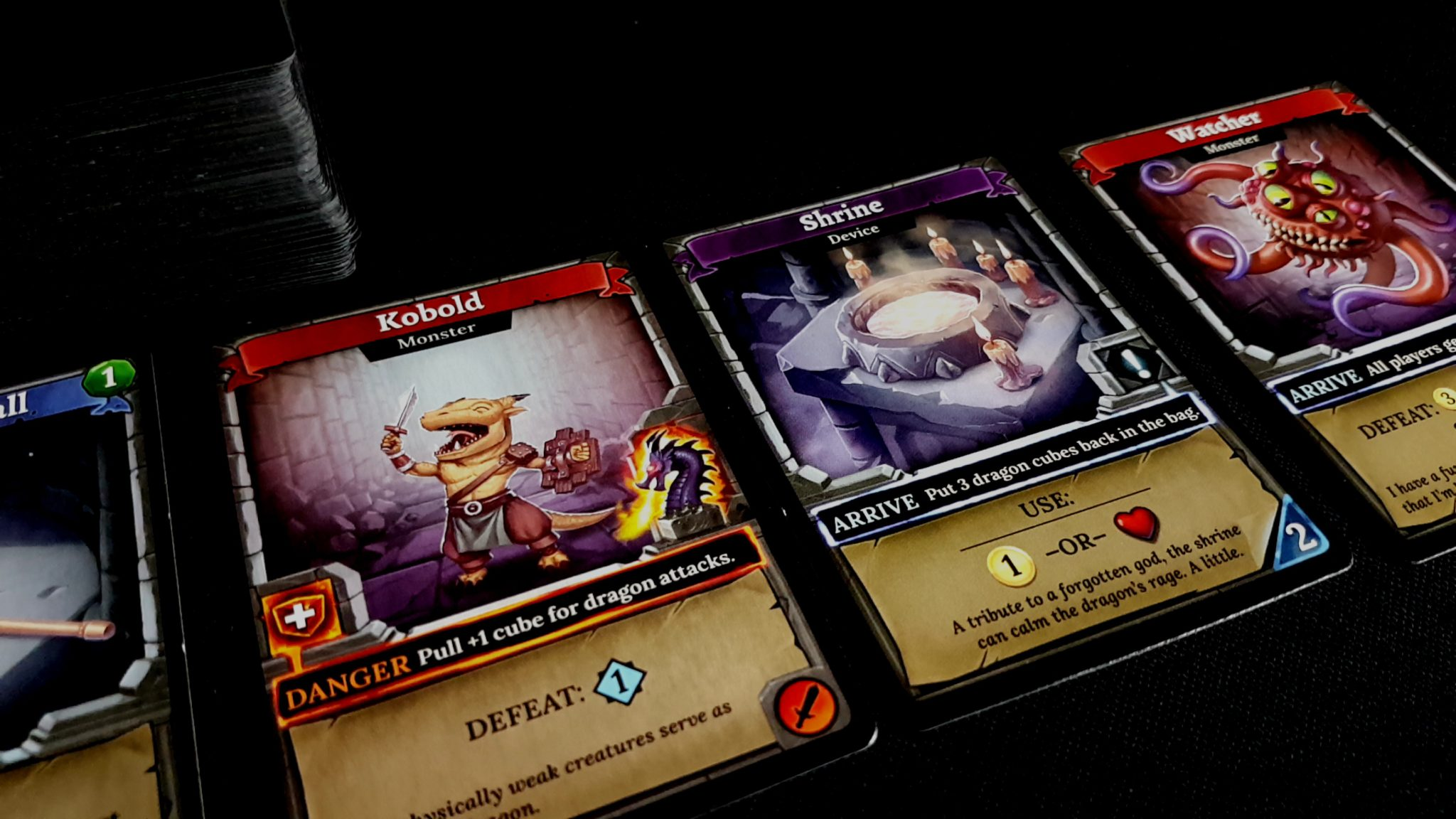 Cards in Clank