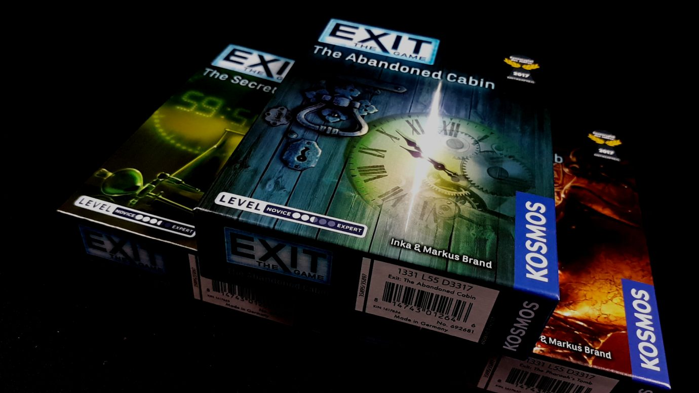Exit game boxes