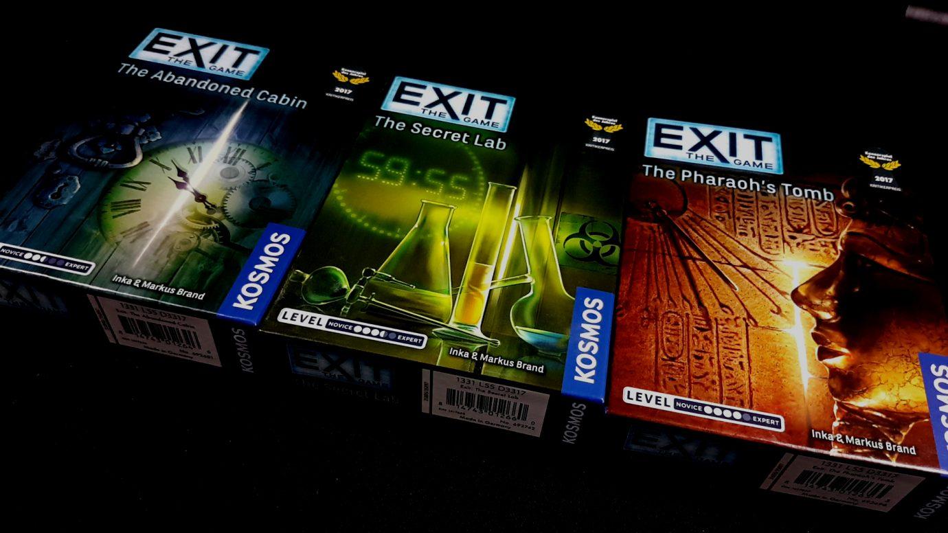 Exit series boxes