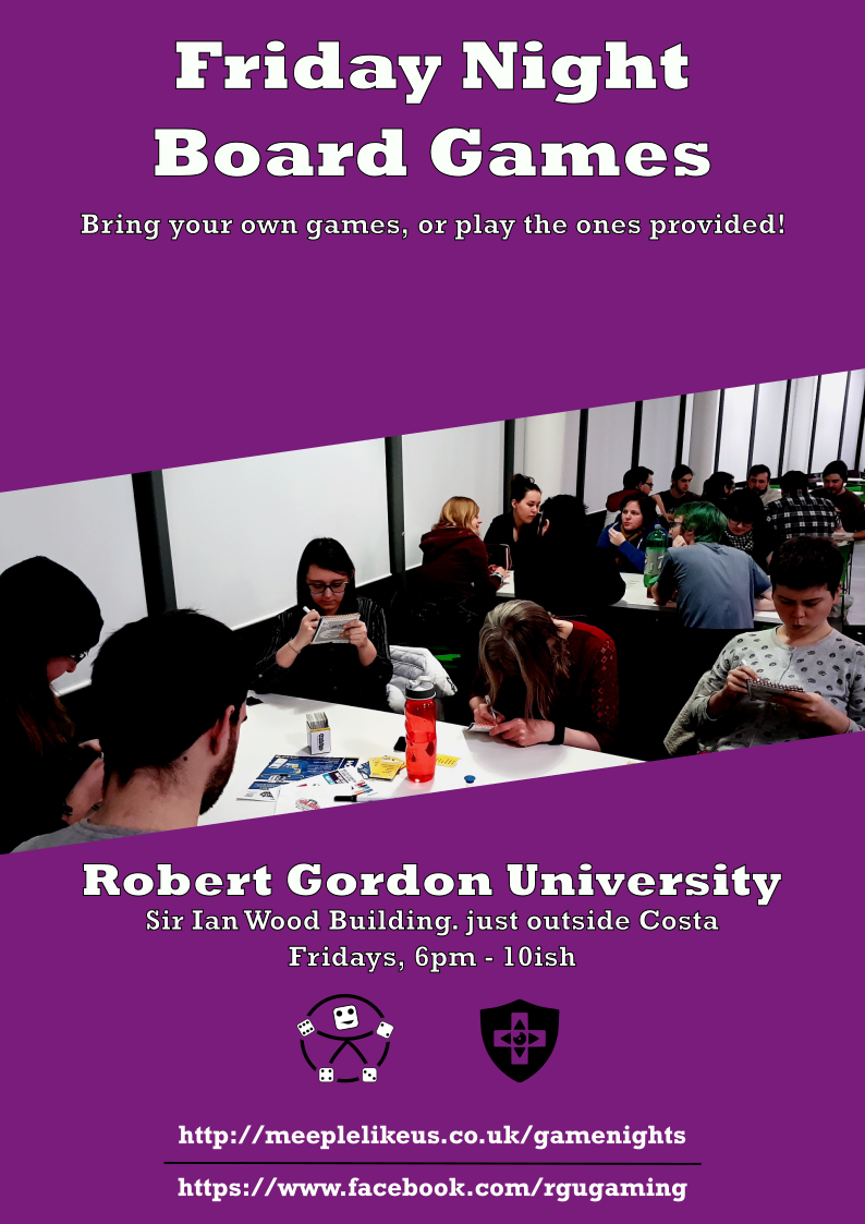 RGU event poster