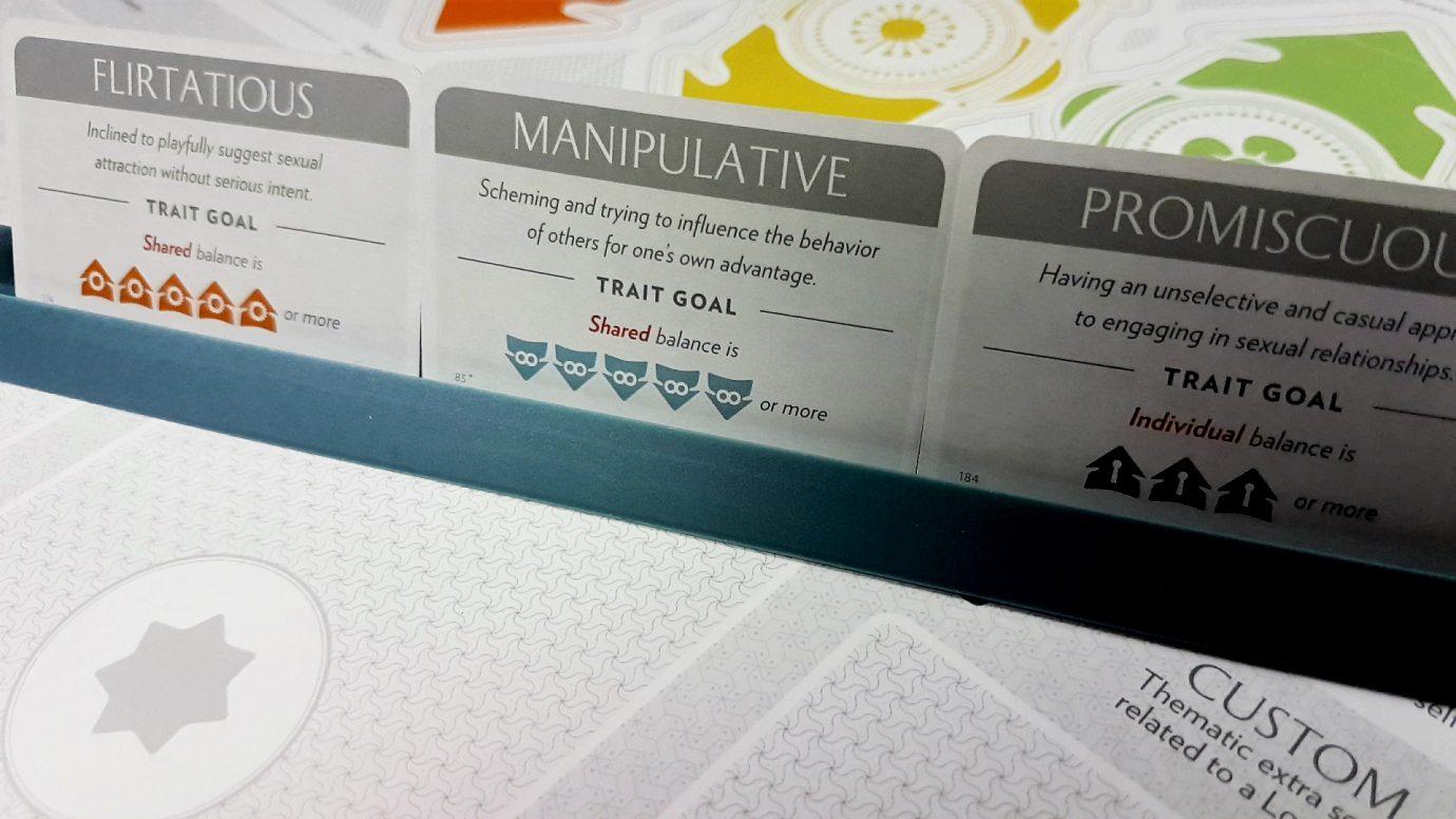 Fog of Love trait goals