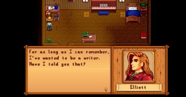 Elliott, the writer who never writes