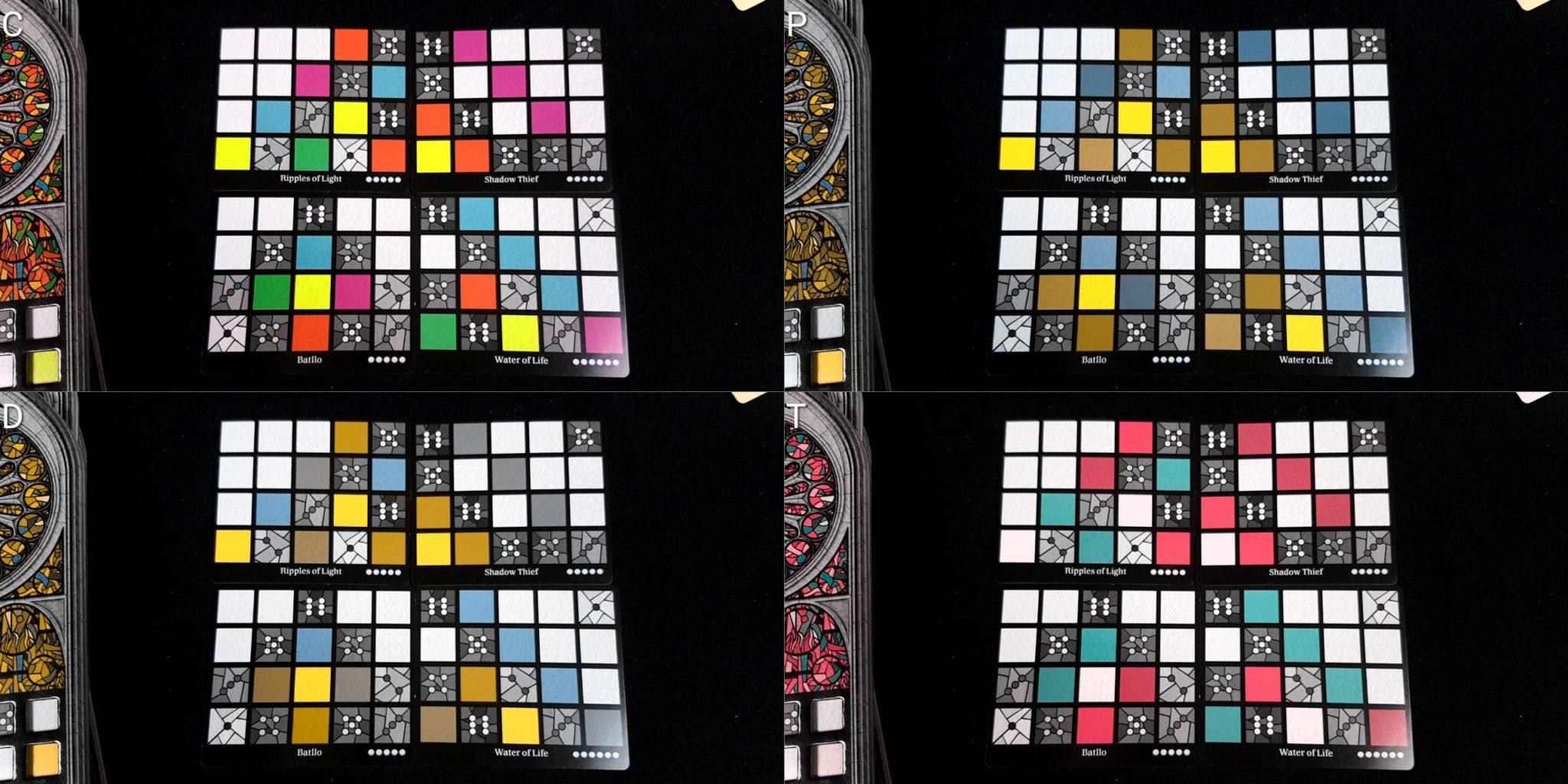 Colour blindness window patterns
