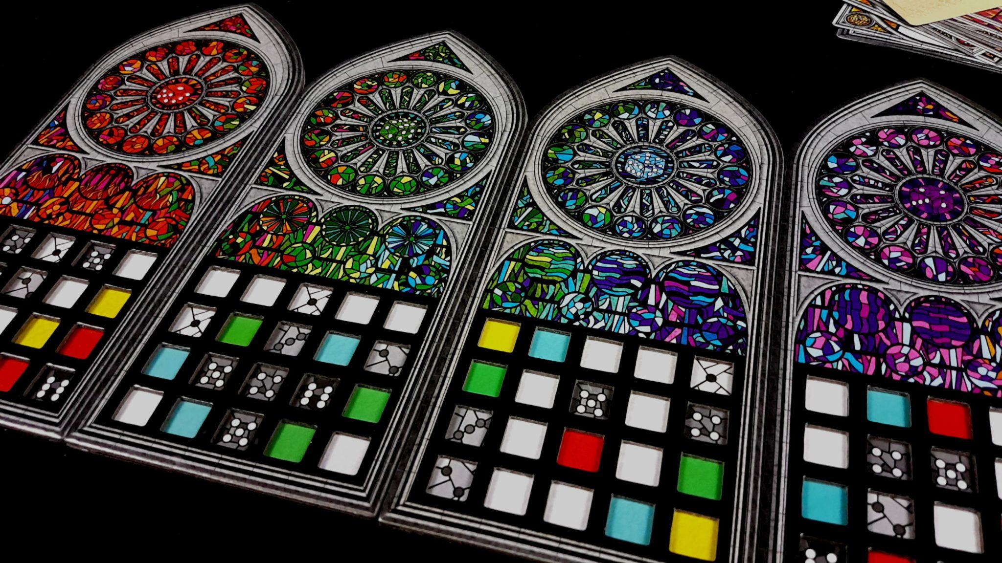 Slotted Sagrada window frames