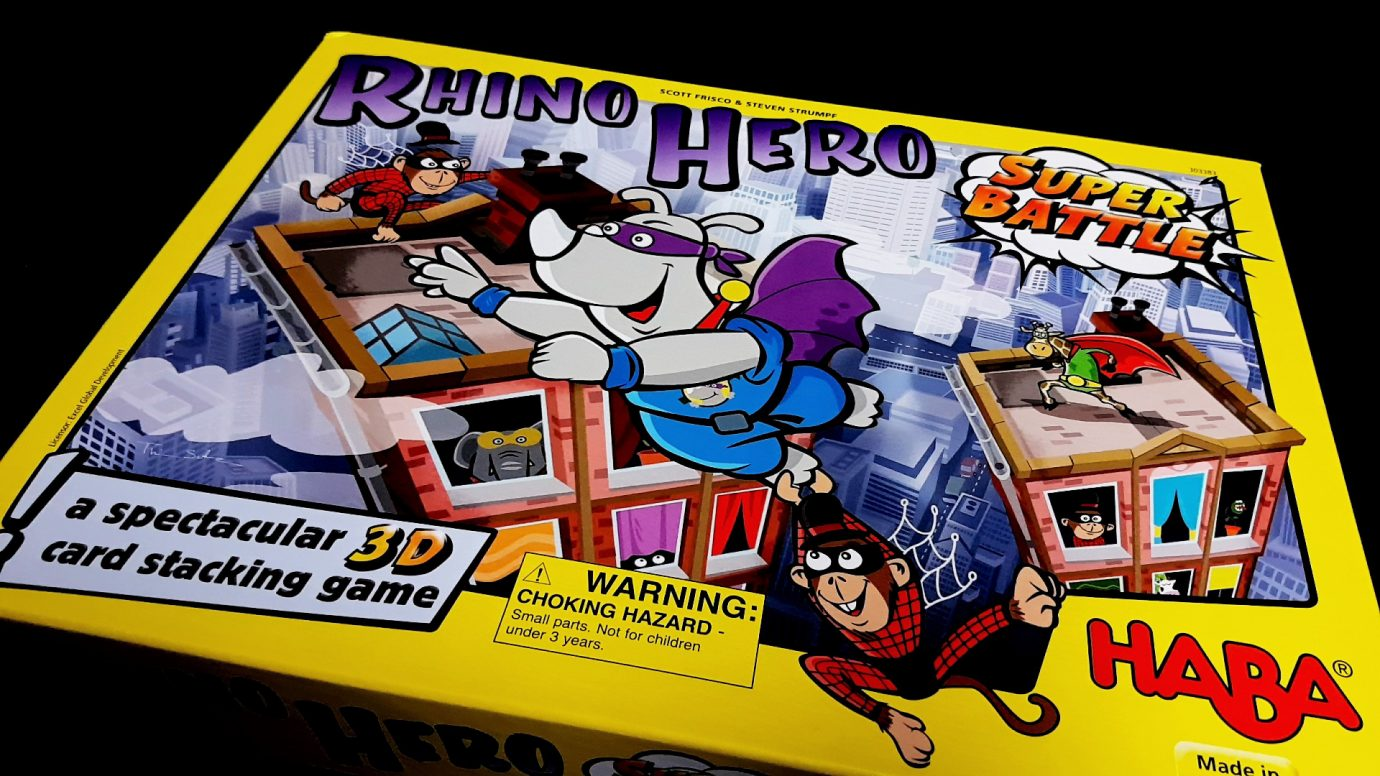 Rhino Hero Super Battle box