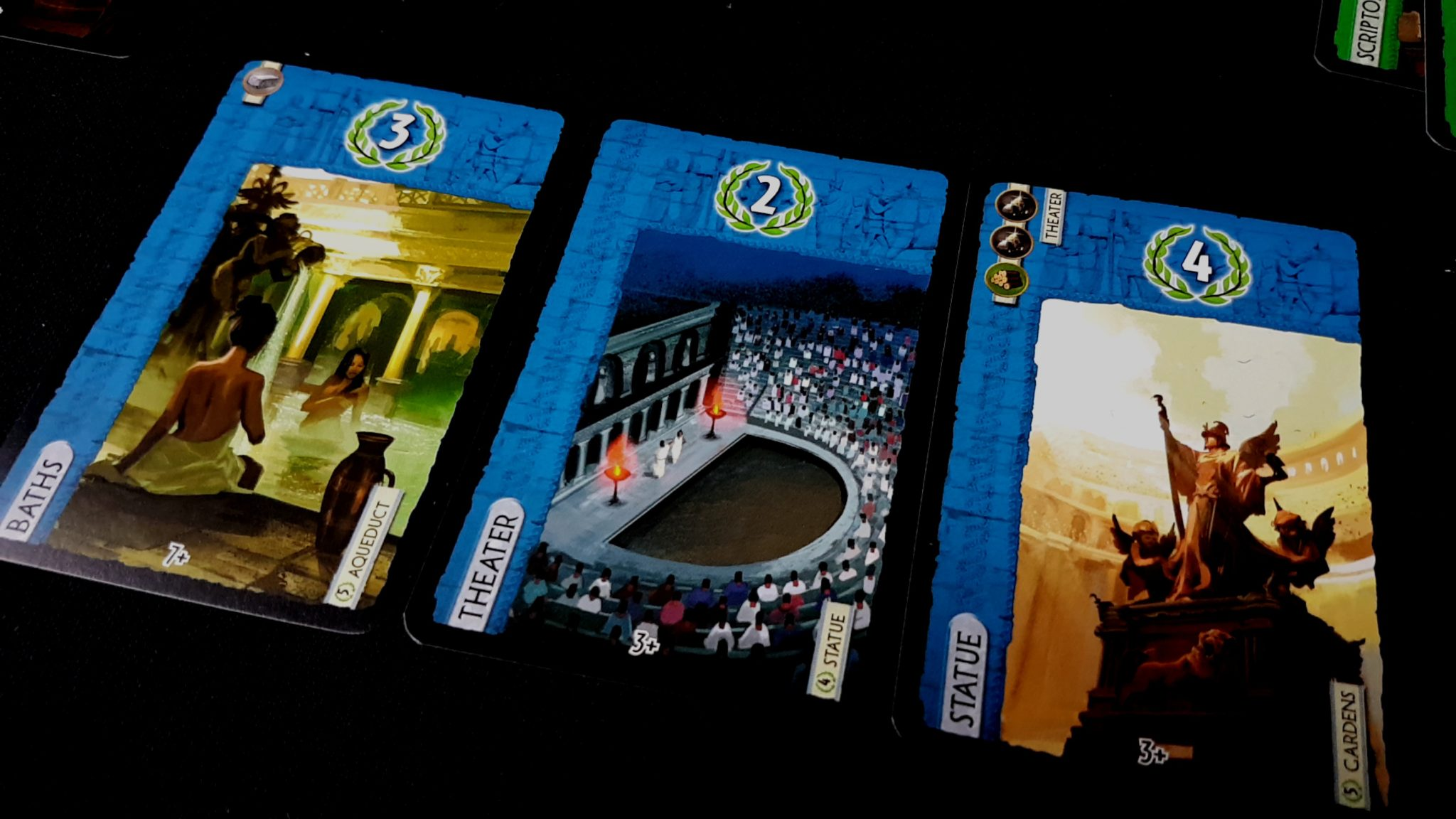 Baths card in 7 Wonders