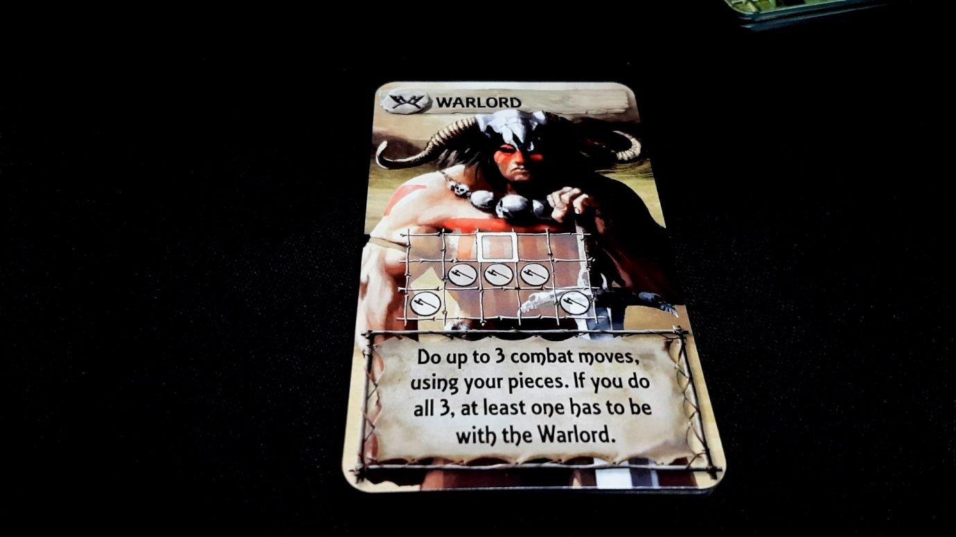 Warlord card