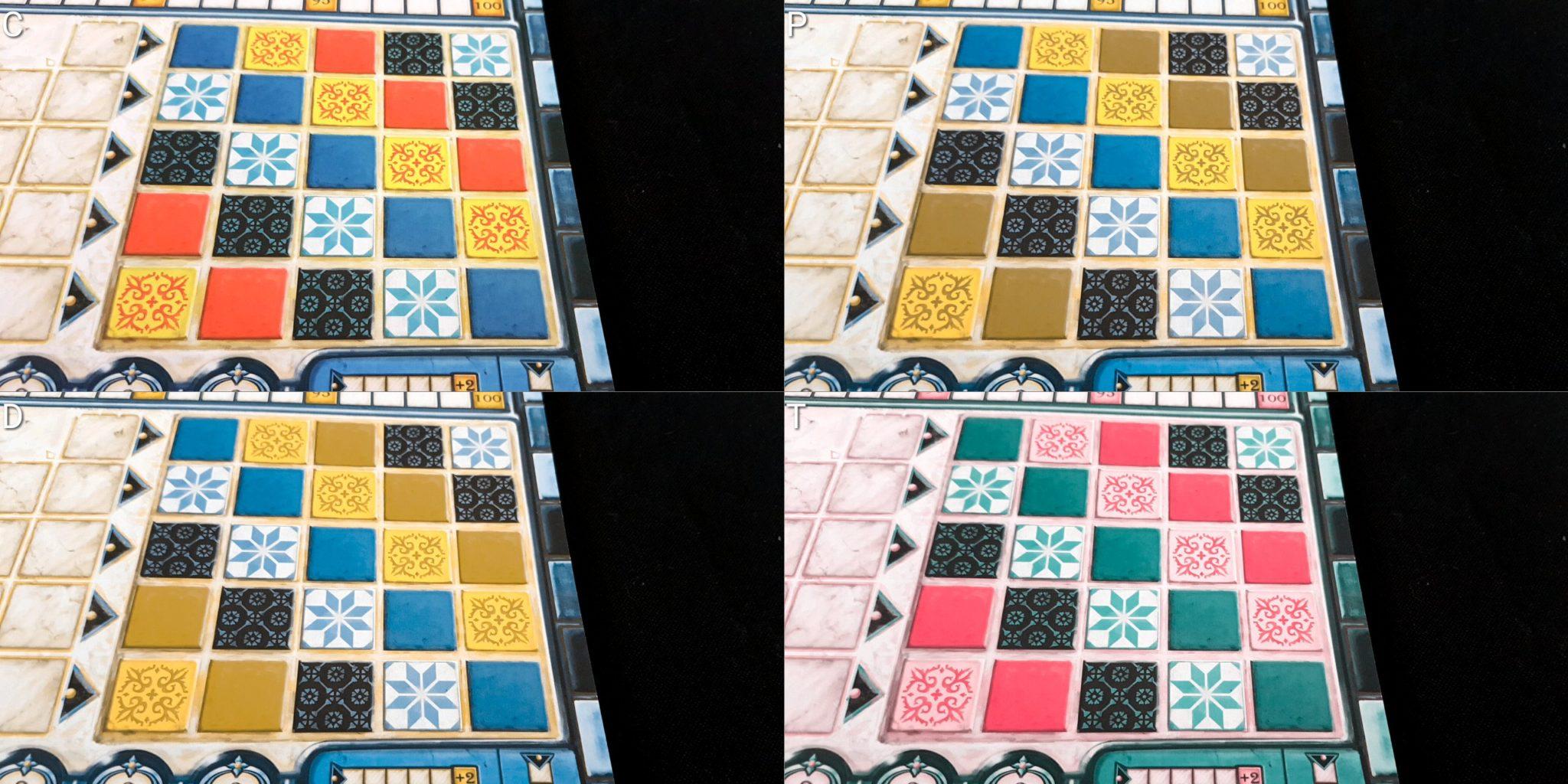Colour blindness board