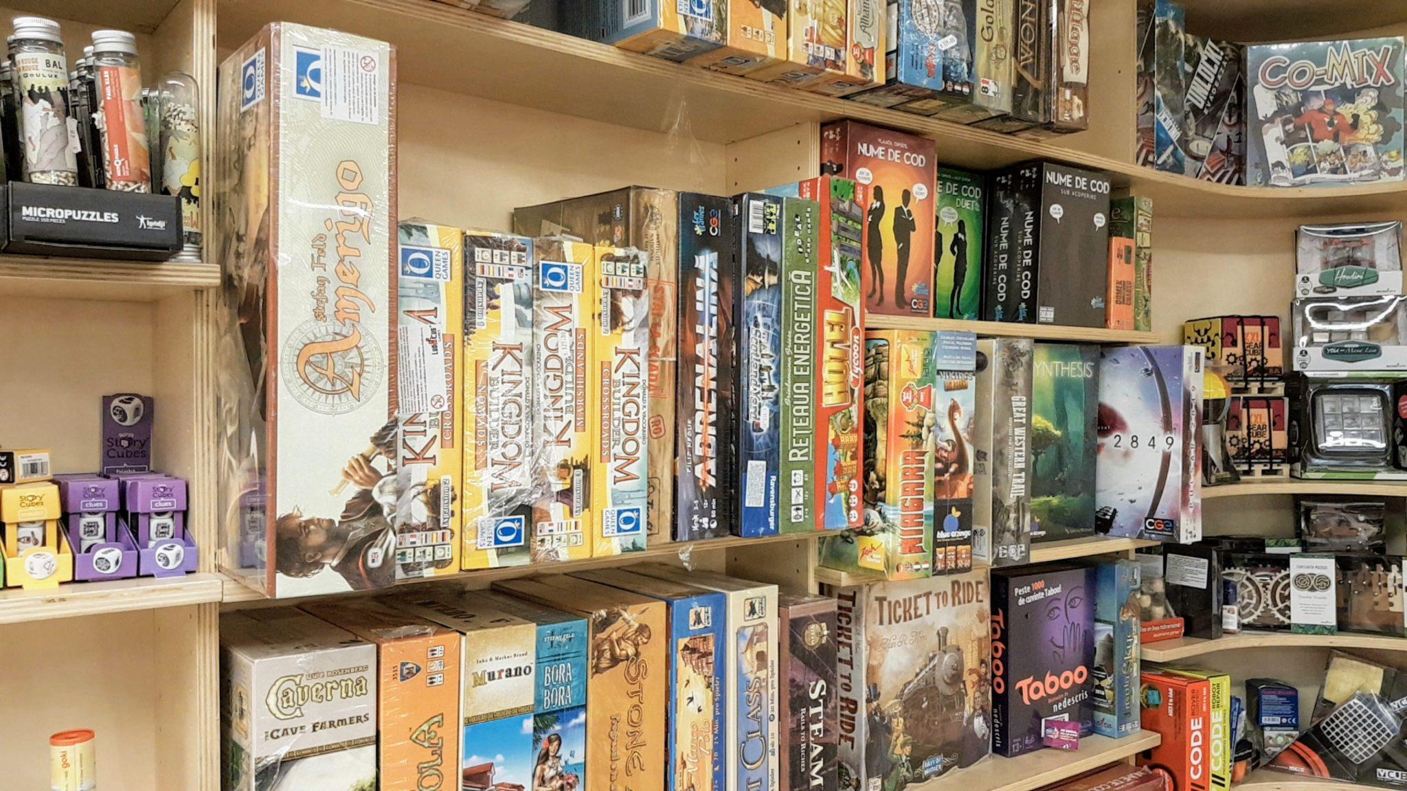 Games for sale in Romania