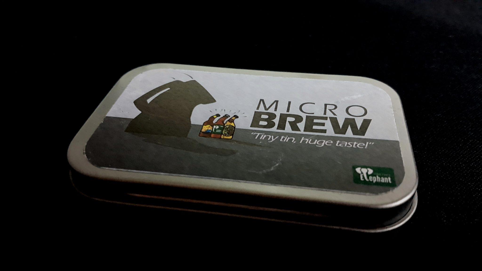Microbrew tin