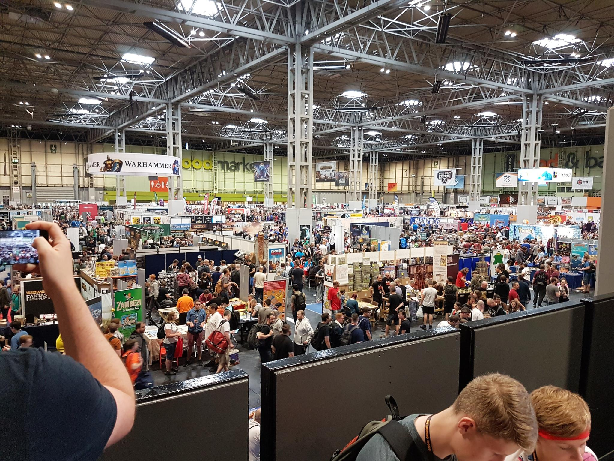 UKGE 2018 crowds