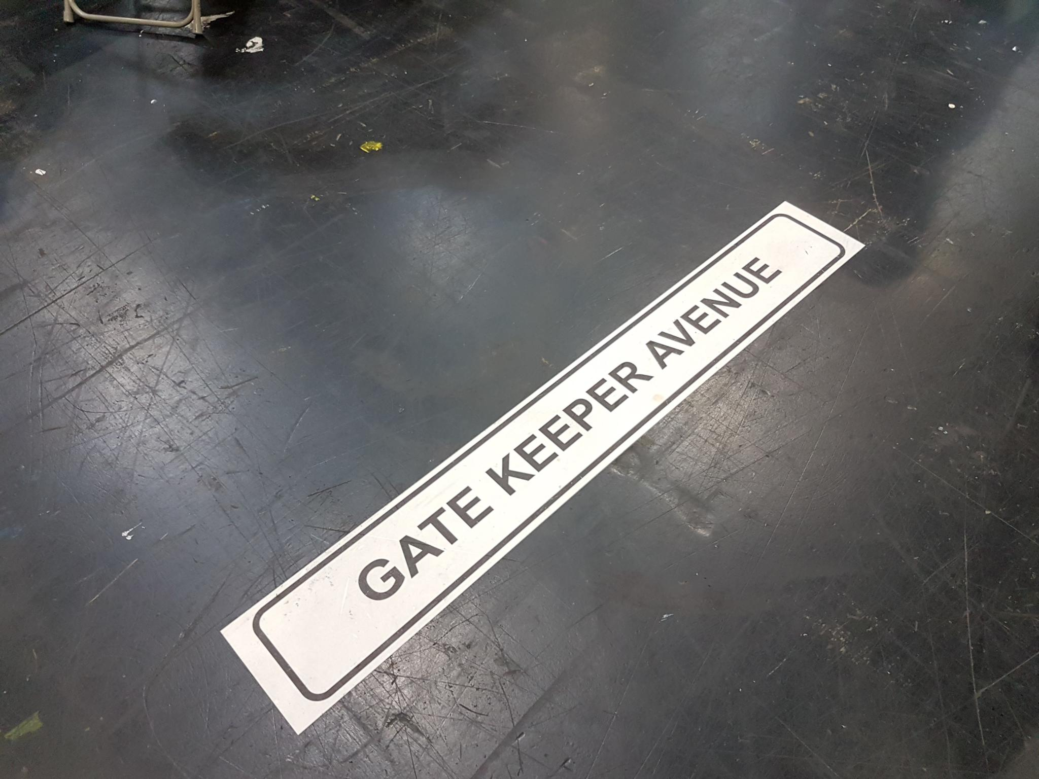 Gatekeeper Avenue