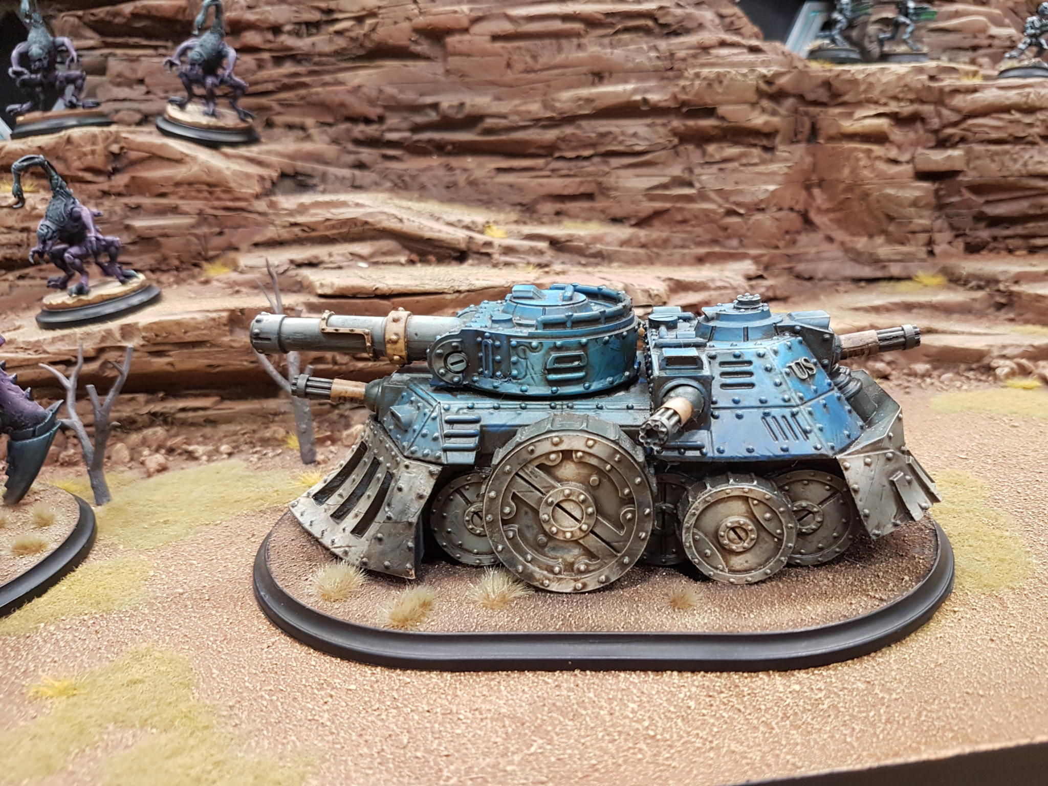 Some kind of tank from UKGE
