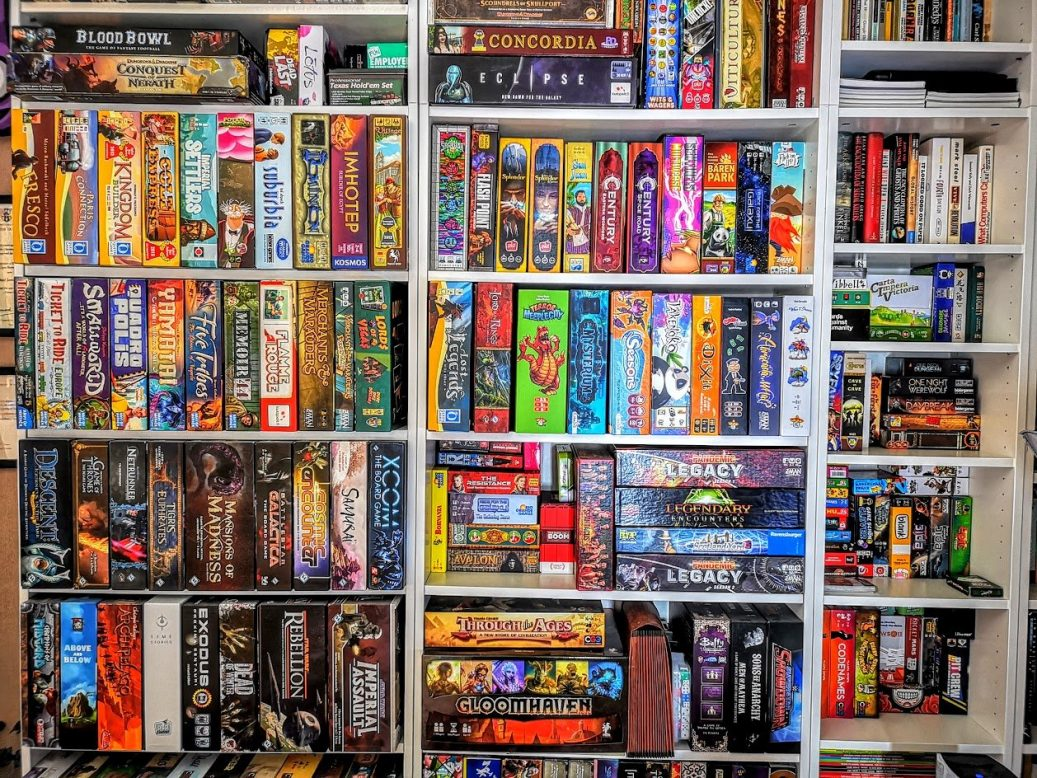 My ridiculous game collection
