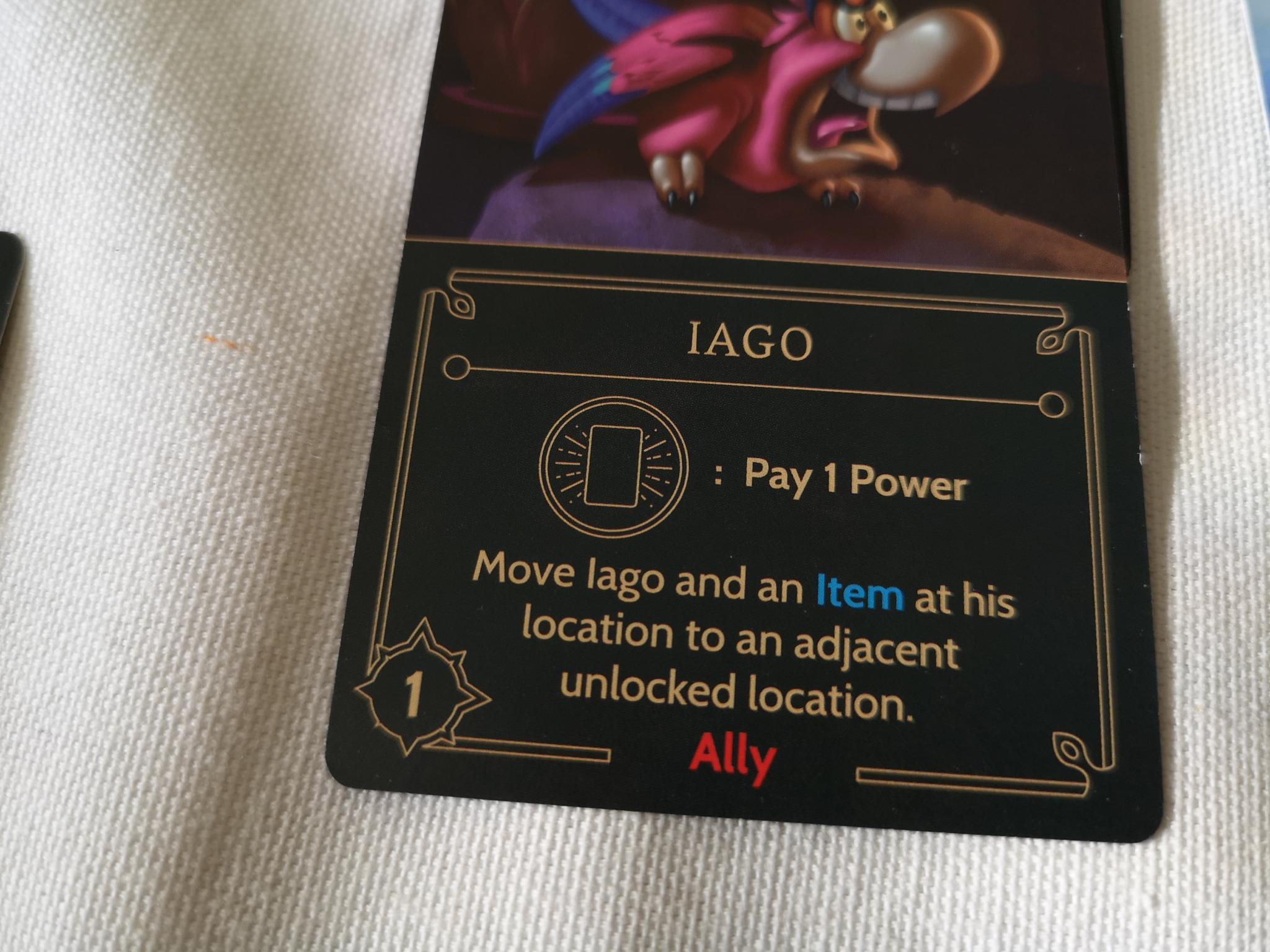 Iago card