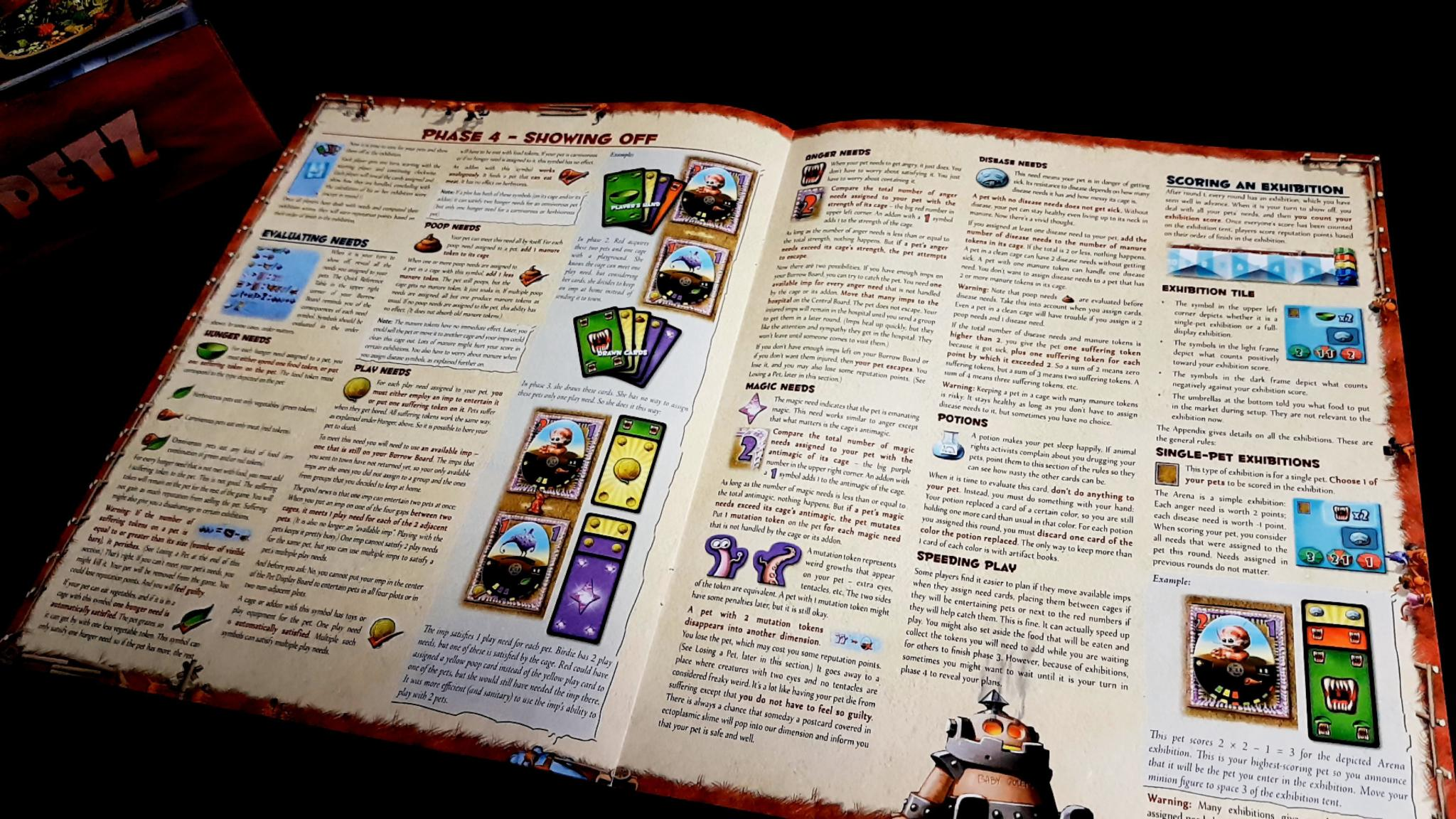 Dungeon Petz manual