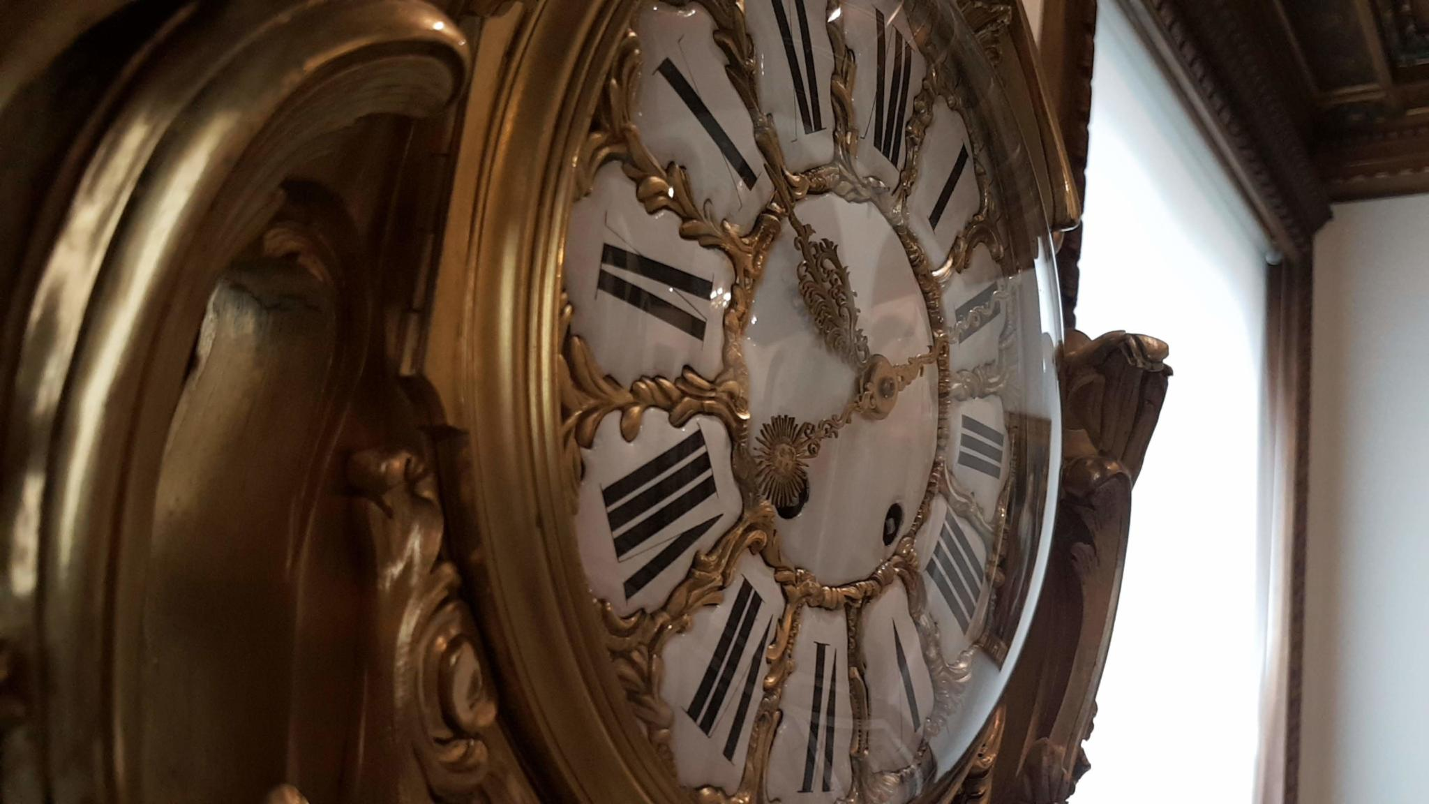 Nice clock from the European collection in Bucharest