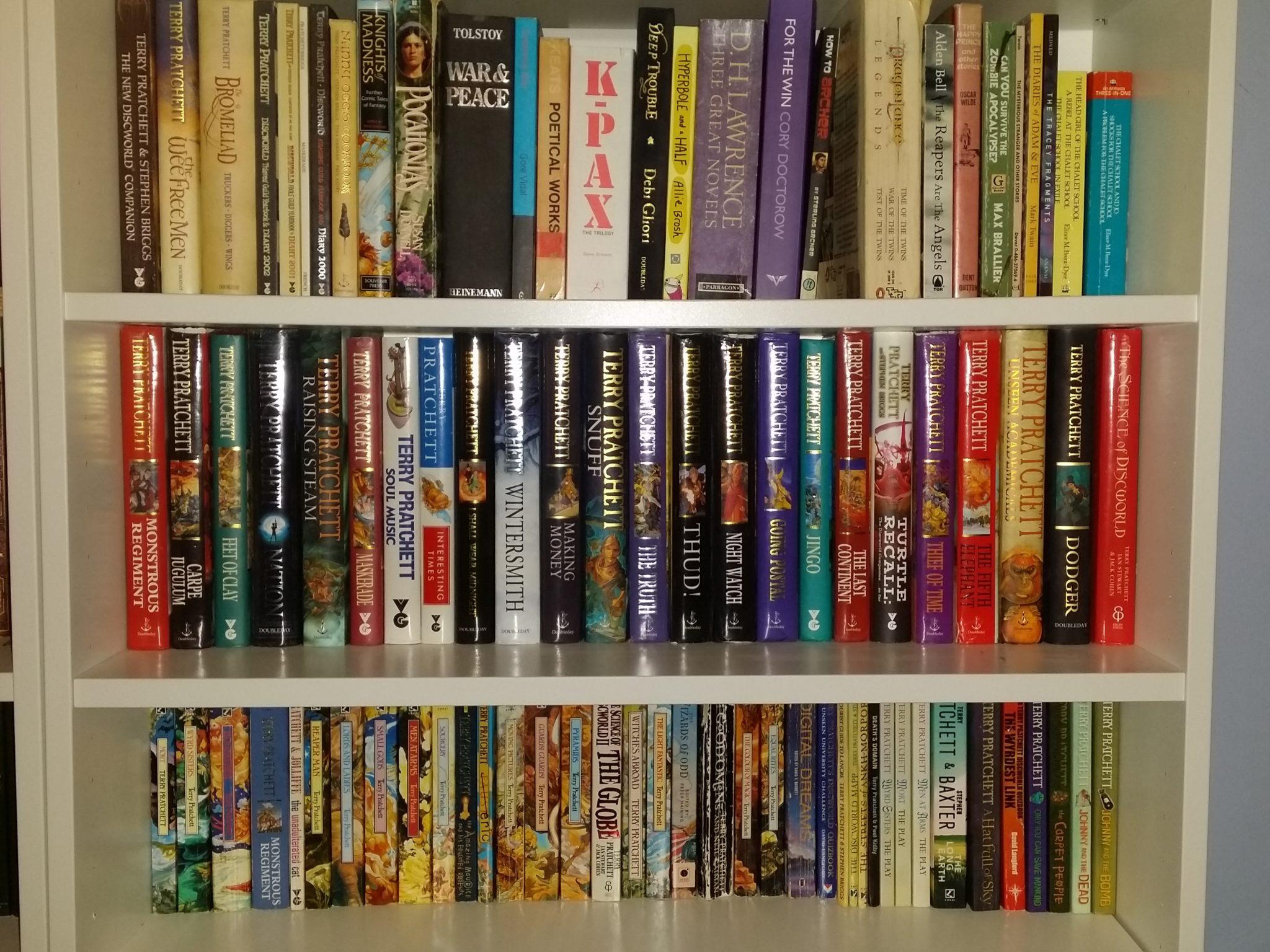 A Depth Year of Terry Pratchett books