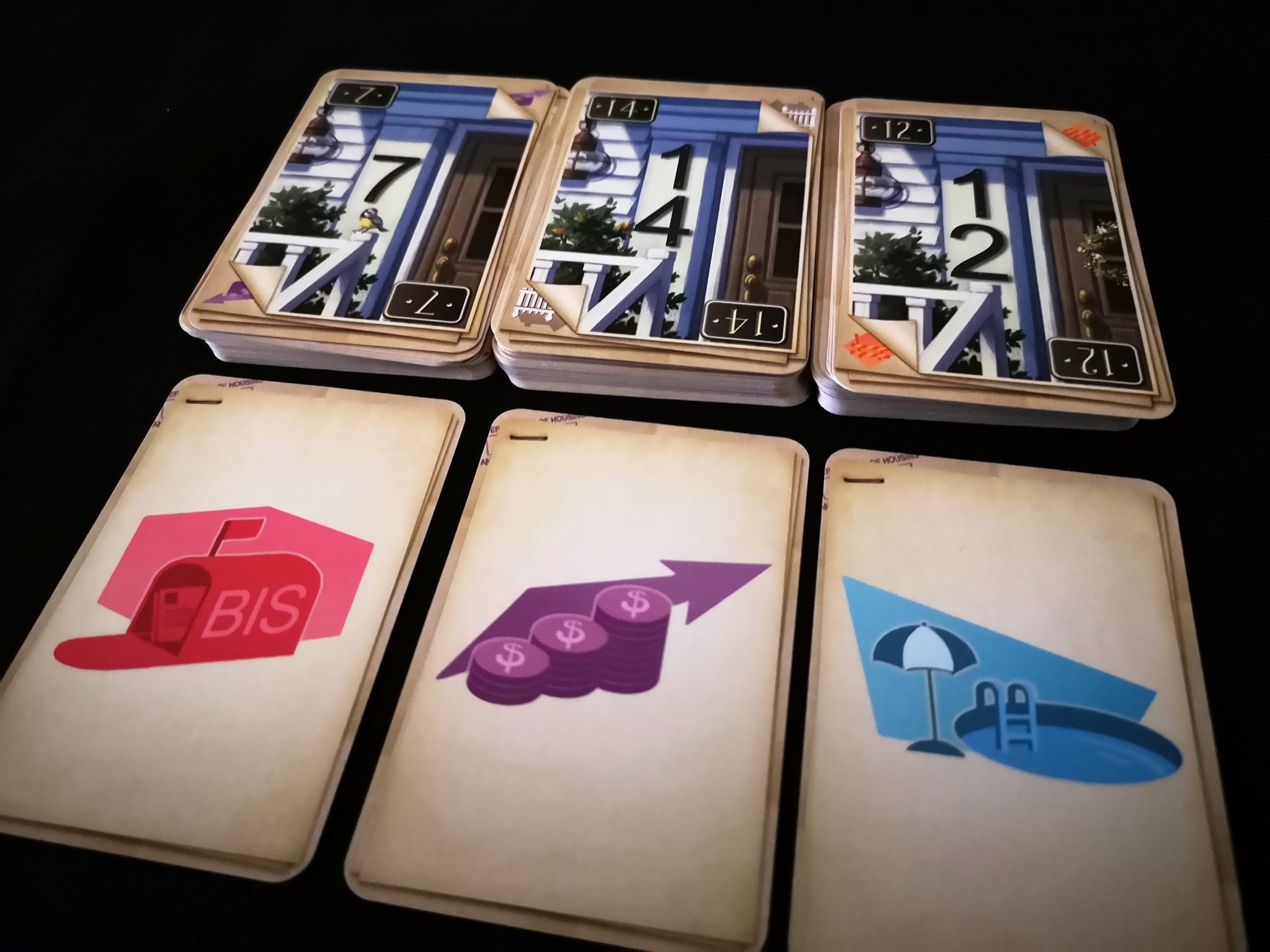 Decks to choose from