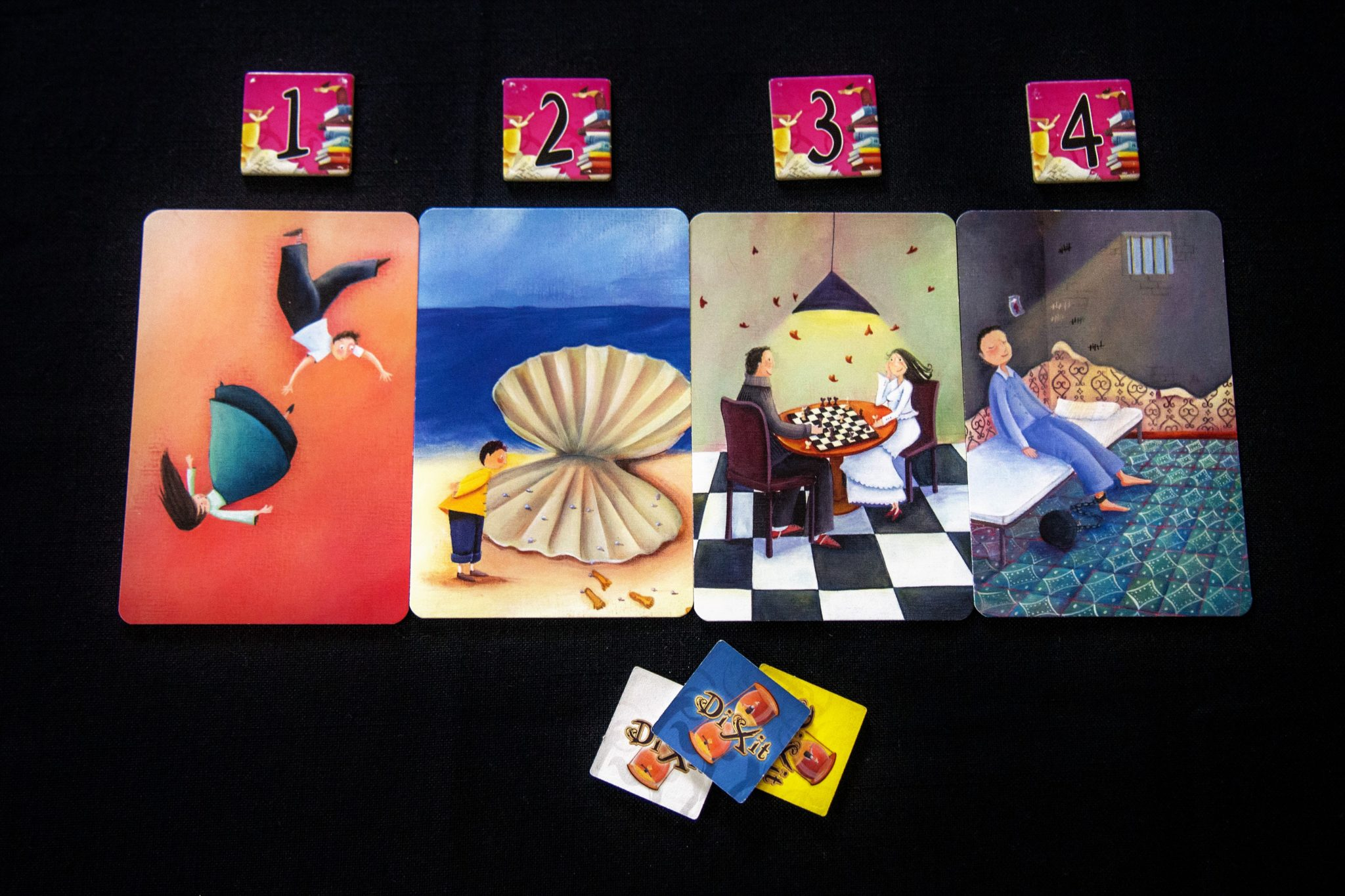 Cards from Dixit