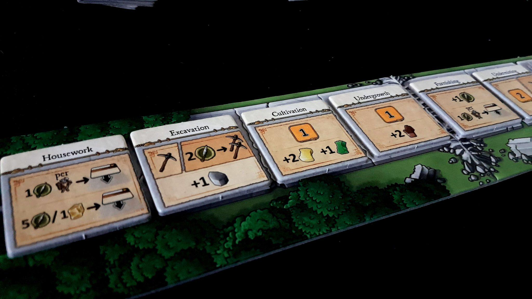 Caverna console board