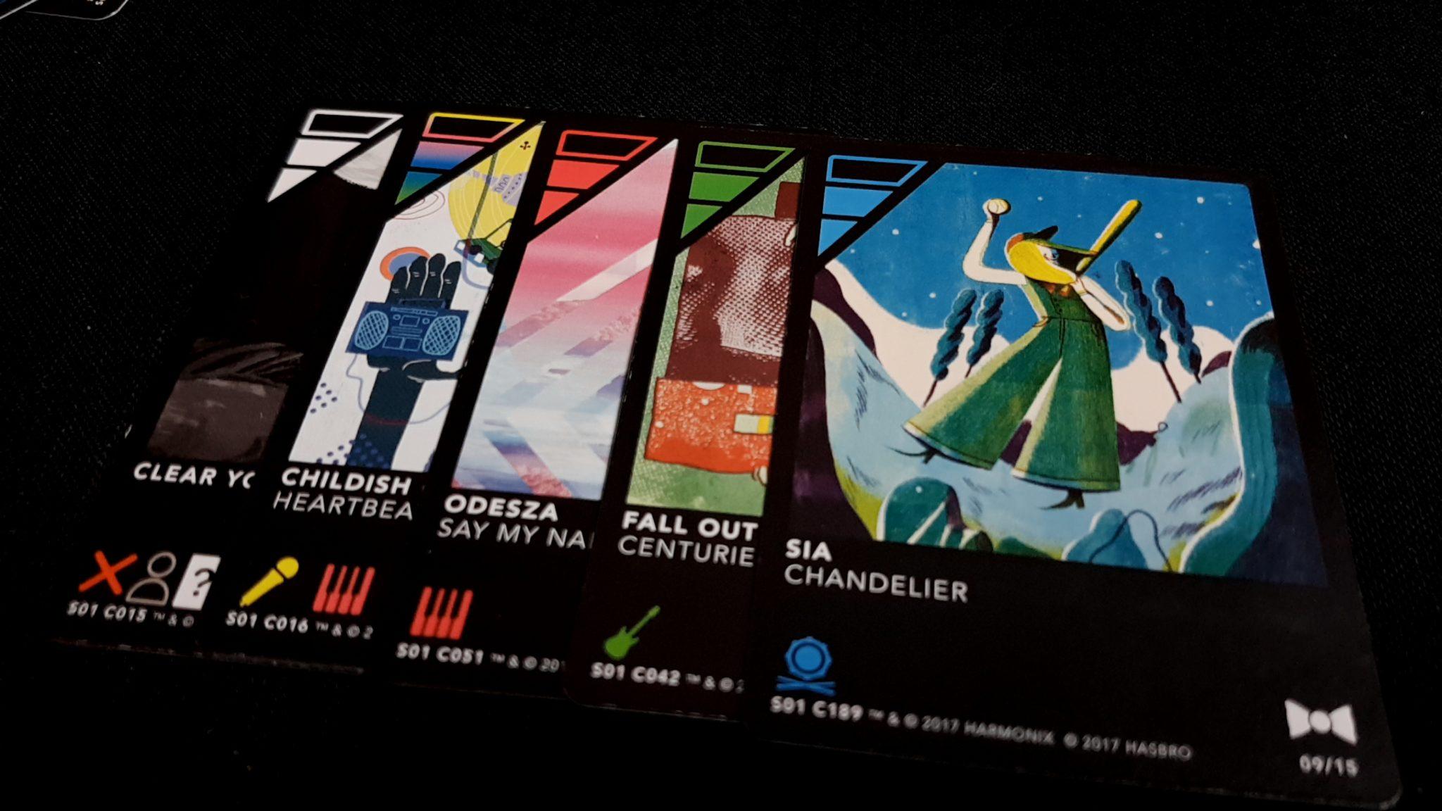 Dropmix cards