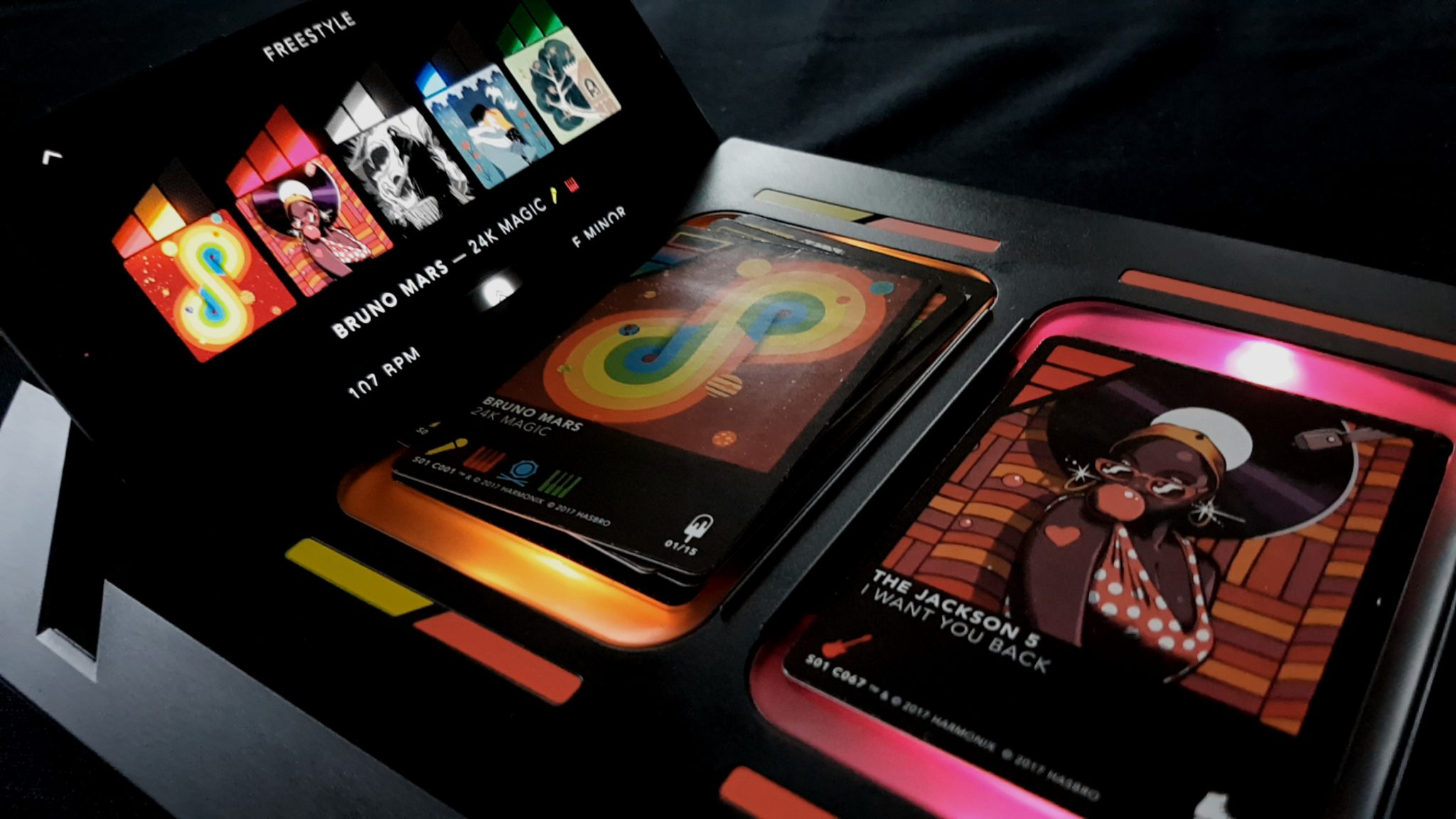Dropmix console with cards