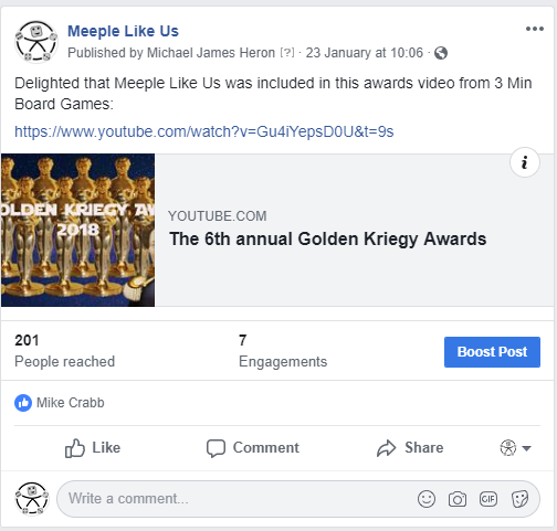 The 6th Annual Golden Kriegy Awards