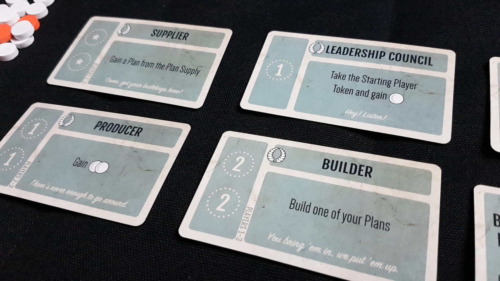 Leadership council card