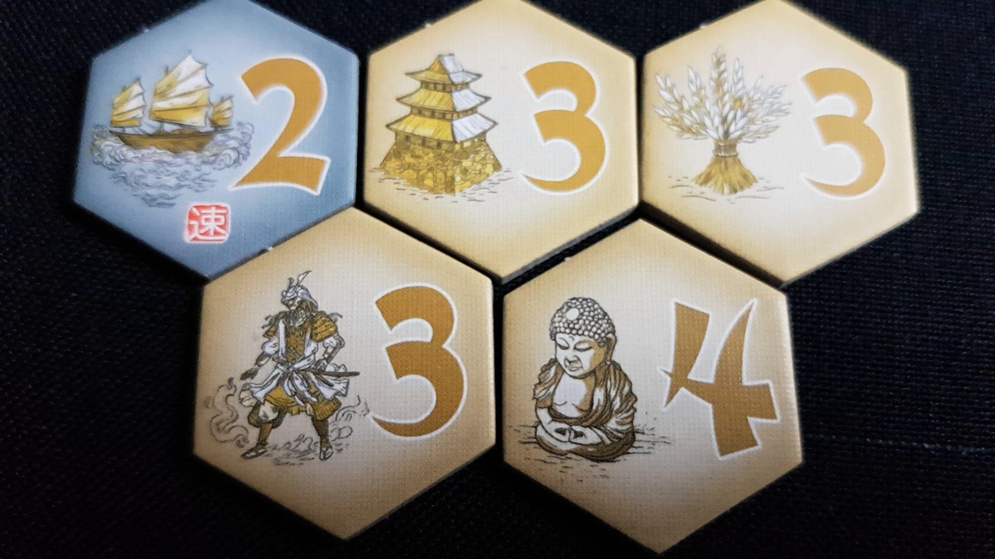 Samurai tiles