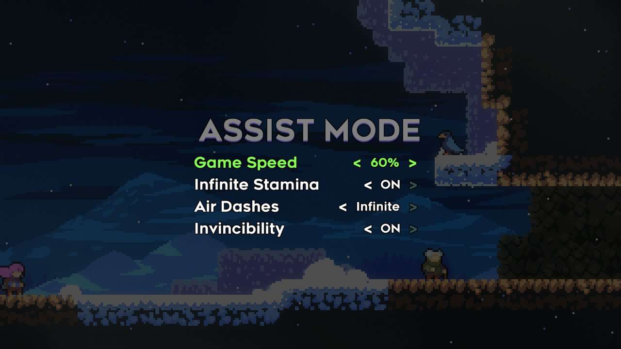 Assist mode settings