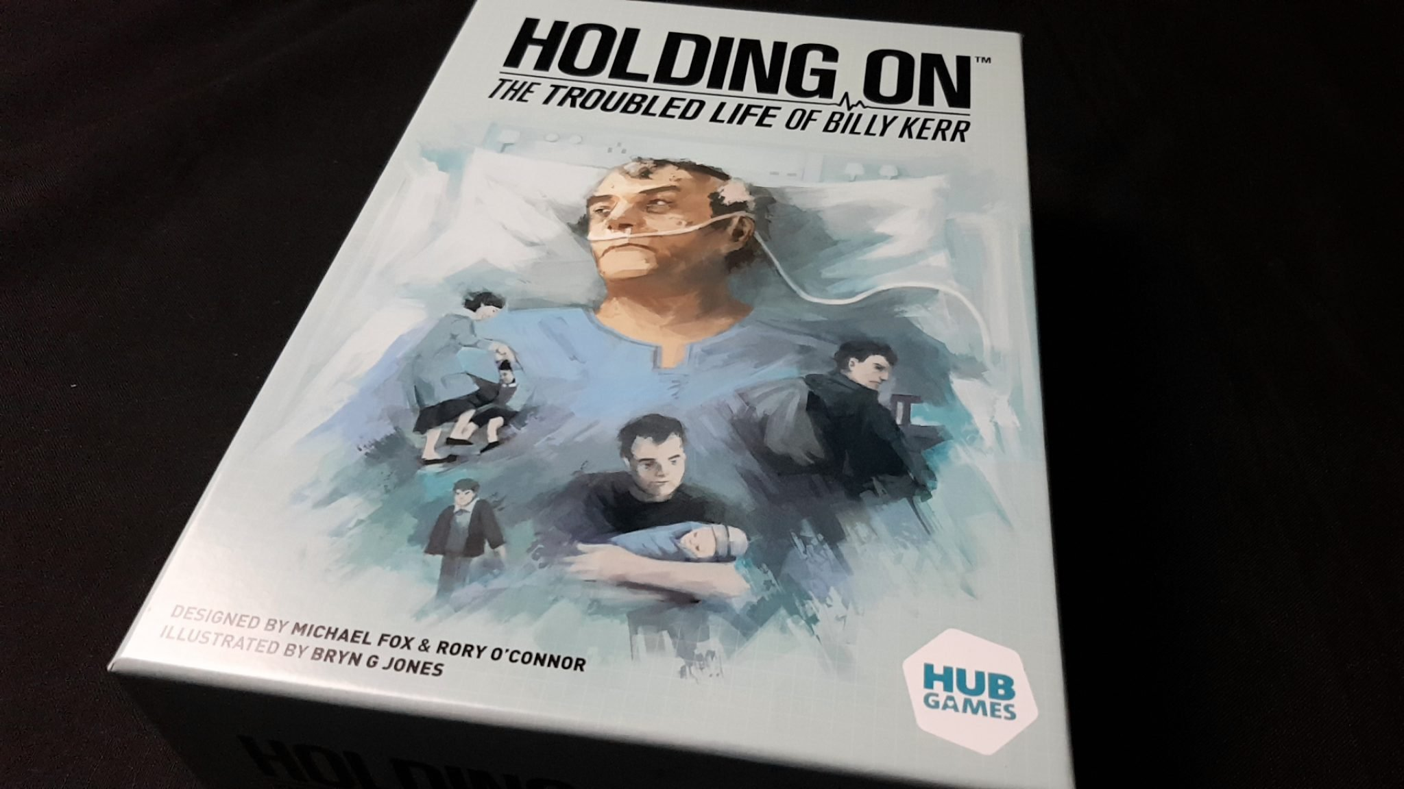 Holding On box