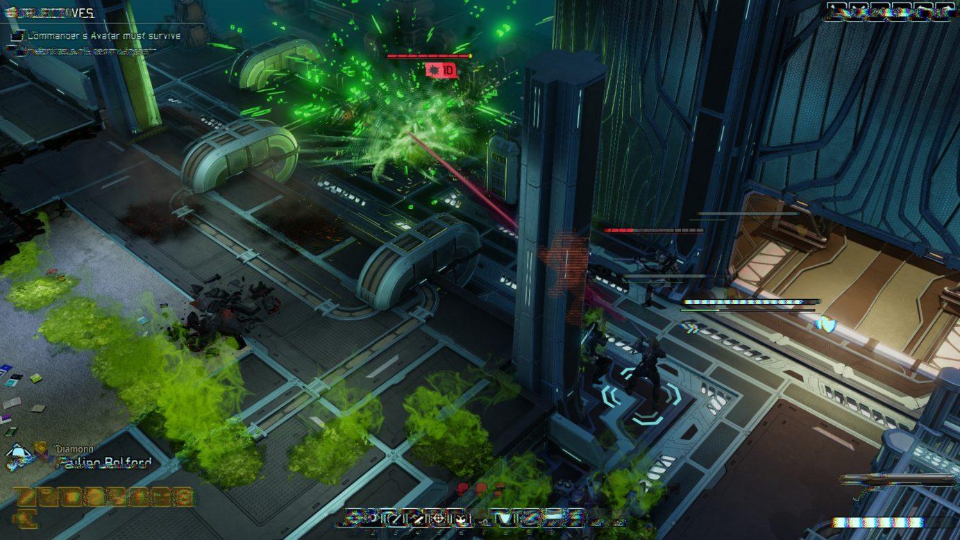 XCOM explosion