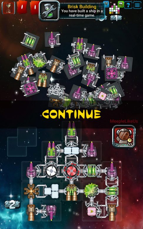Galaxy Trucker ship construction