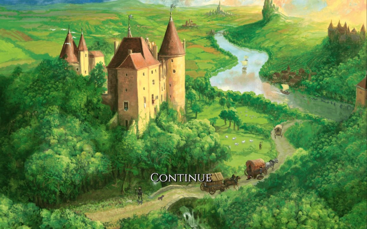 Castles of Burgundy splash screen