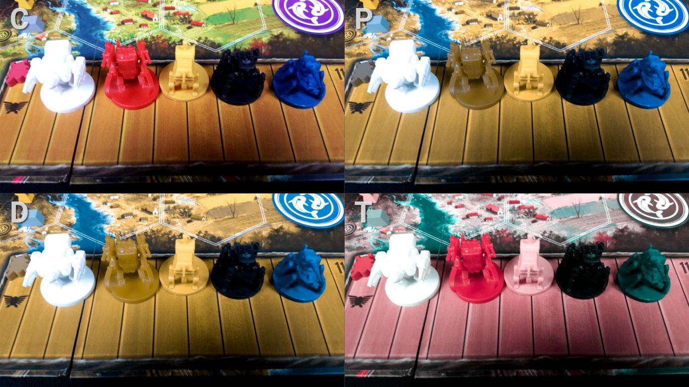 Scythe minis with colour blind filter