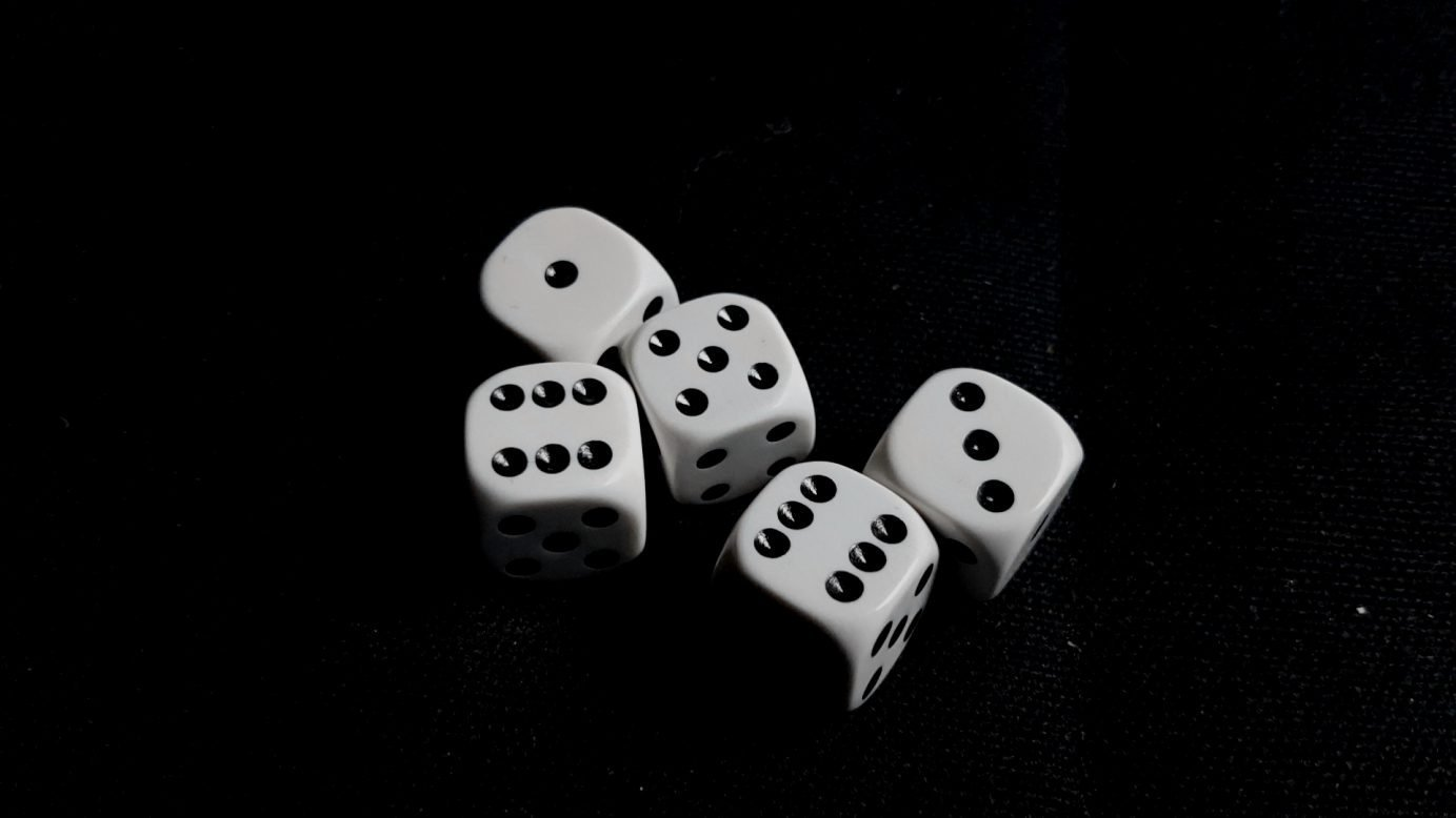 A roll of dice in Perudo