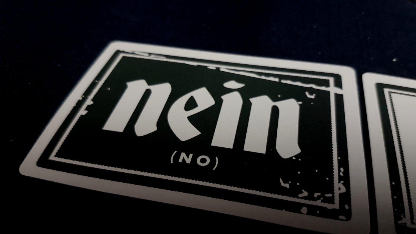 Nein card