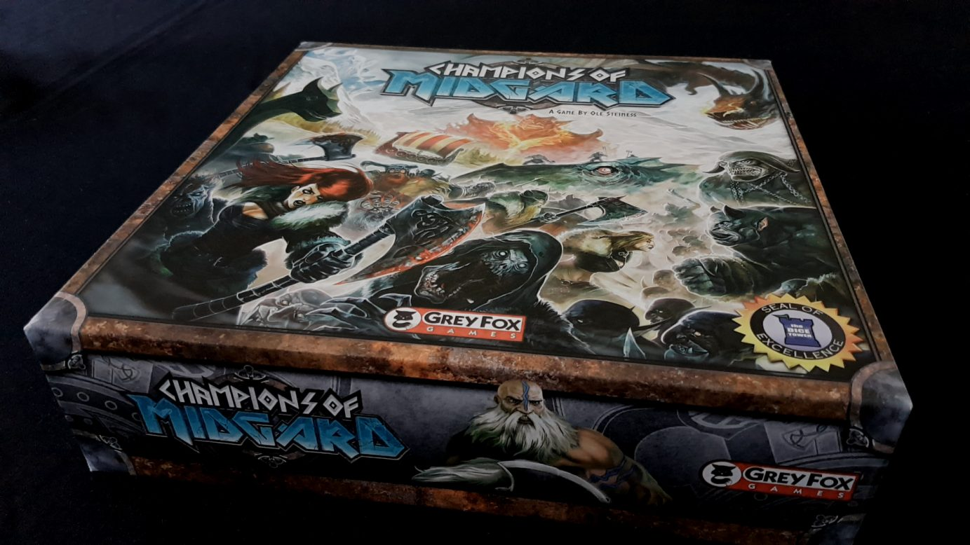 Champions of Midgard box