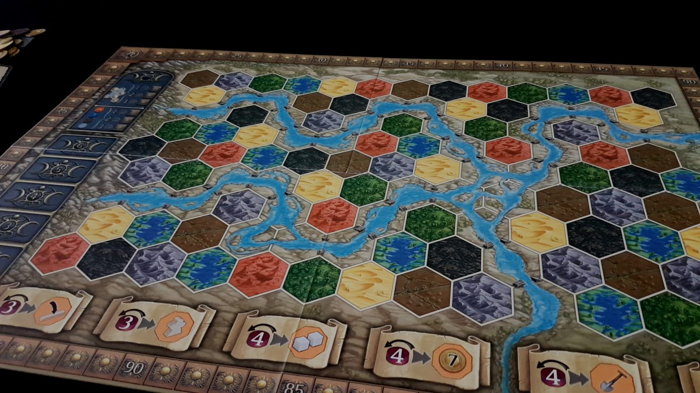 Main game board