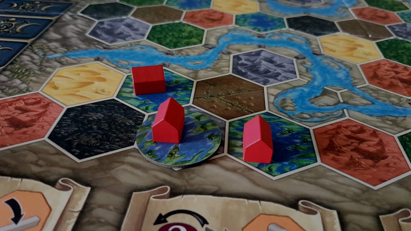 Terra Mystica board