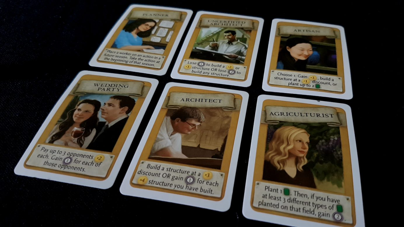 Viticulture cards