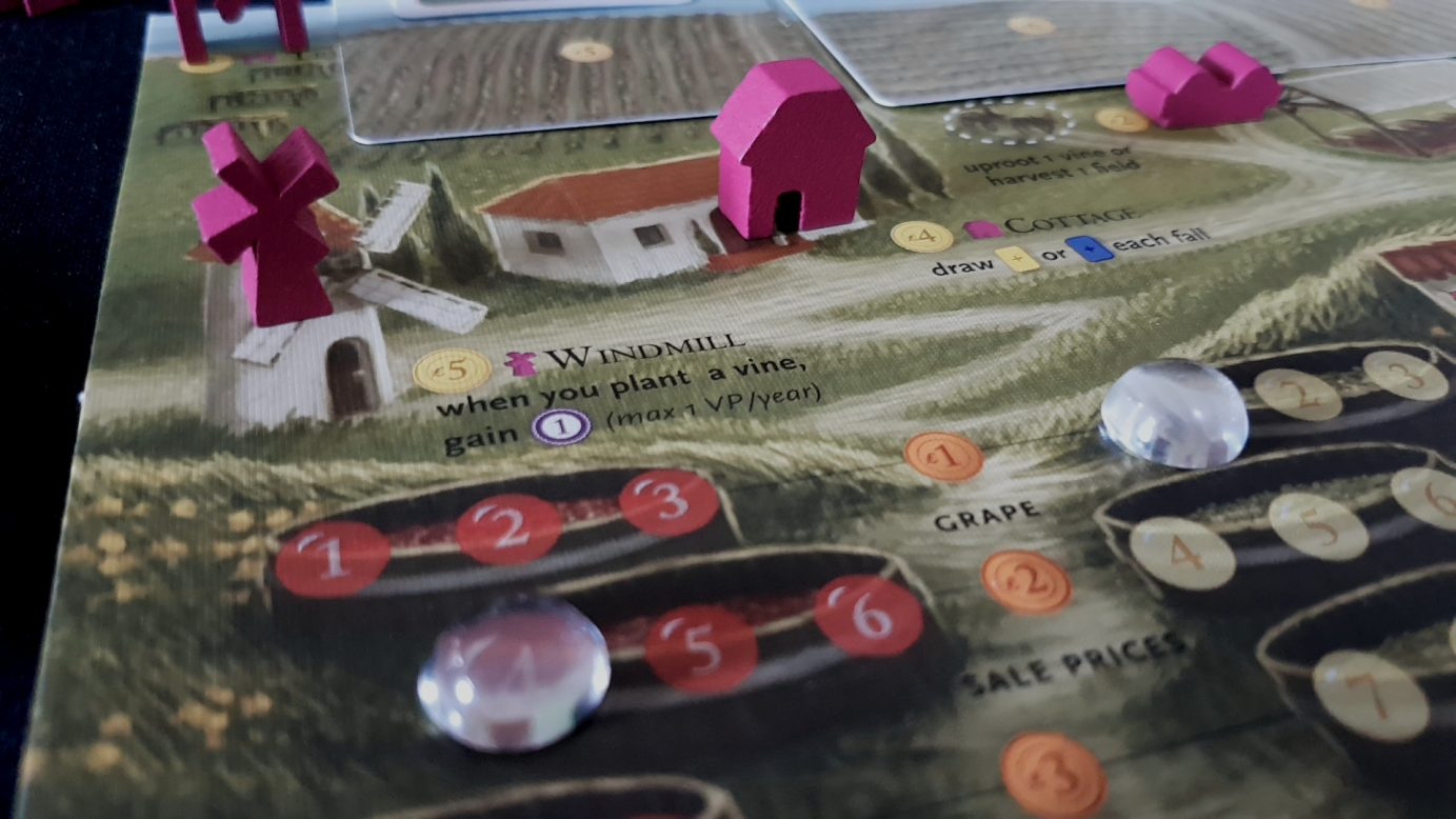 Viticulture player board