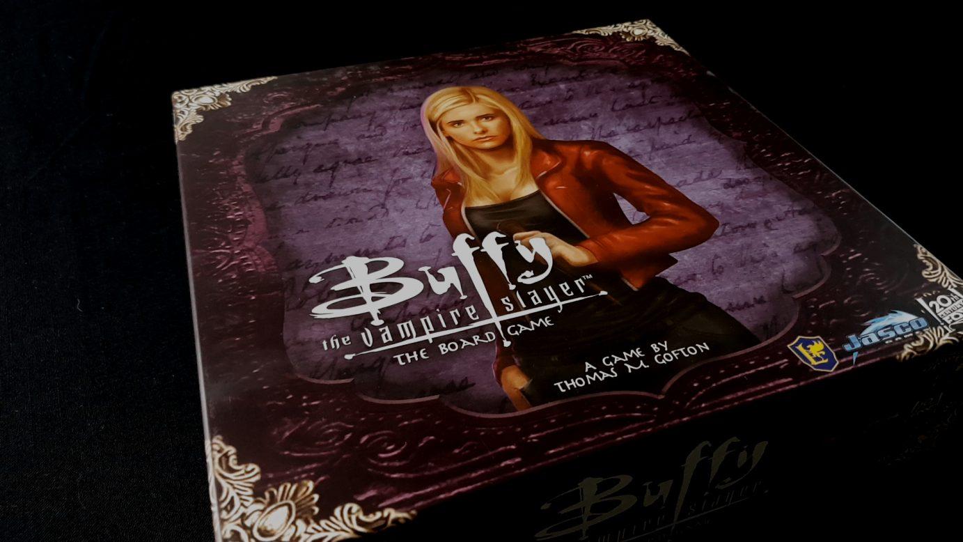 Buffy game box