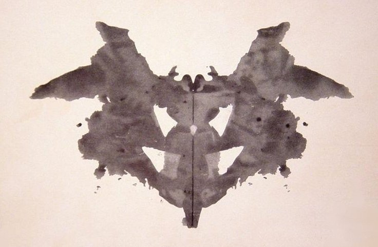 Ink blot test